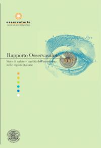 Rapporto Osservasalute 2007