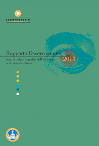 Rapporto Osservasalute 2013