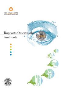 Rapporto Osservasalute Ambiente 2008